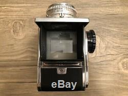 Hasselblad 500C Medium Format SLR Film Camera with 80 mm lens Kit And Two Backs