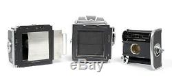 Hasselblad 500C Medium format 6X6 Camera with 80mm F2.8 Planar A12 Back + WLF
