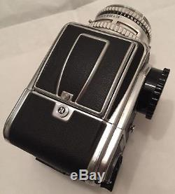 Hasselblad 500C body with A24 back Zeiss 80mm f2.8 Planar C nice user tested