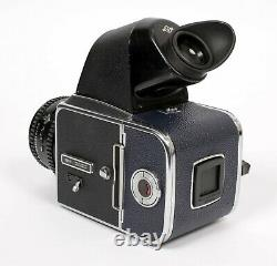 Hasselblad 500C camera with T 80mm F2.8 lens + A12 Back + NC2 prism finder