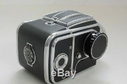 Hasselblad 500C with 80mm f2.8 Planar lens waist-level finder, A12 magazine back