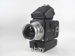 Hasselblad 500ELX Medium Format camera. With PME prism, lens Black w A12 Back