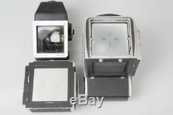 Hasselblad 500EL Film Camera with Kiev88 TTL Spot Letter Meter Viewfinder A12 Back