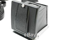 Hasselblad 500 CM C/M Black & 3 Finder SET & 2 Film back holder SET from Japan
