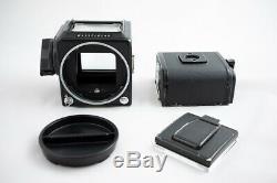 Hasselblad 500 CM Medium Format Camera with80mm f/2.8 C Planar Lens, Film Back