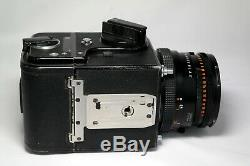 Hasselblad 500 CM + Planar CF 80mm f2.8 + A12 backs