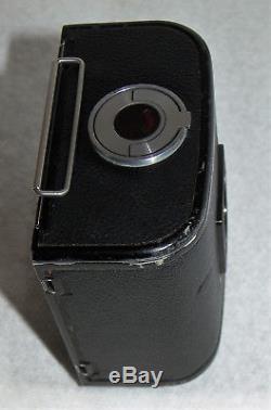 Hasselblad 500 C C/M A-12 black 6X6 film back plus Magazine 12 6X6 chrome film b