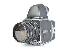Hasselblad 500 C/M Kit + 80mm Planar Lens + A16 Back with Eye Level Finder #E5578
