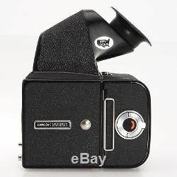 Hasselblad 500 C/M Medium Format SLR Camera With A12 Back Kiev Viewfinder