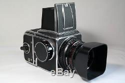 Hasselblad 500 C/M with C Planar T 80mm f2.8 lens and back