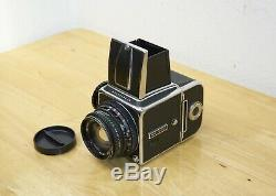 Hasselblad 500 C chrome with Zeiss 80mm f/2.8 T and matching A12 back CM