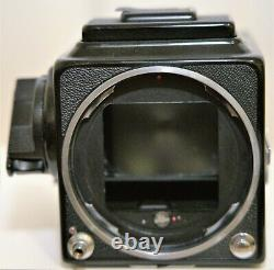 Hasselblad 500 cm body with Carl Zeiss Planar 80mm f2.8 lens A12 film back
