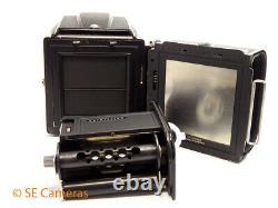 Hasselblad 500c/m 500cm Camera & Planar 80mm 2.8 T Lens, A12 Back Excellent