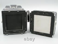 Hasselblad 500c/m Body with 80mm f/2.8 Planar Lens 12 Exposure 6x6 Roll Film Back