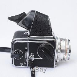 Hasselblad 500c withPlanar 80mm F2.8, Prisum finder and 2-A24 backs