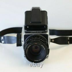 Hasselblad 500cm Carl Zeiss Planar 80mm CF Lens A12 Back PME Prism Finder