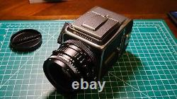 Hasselblad 500cm With 80mm CF Planar T Lens and A12 Back Excellent Condition