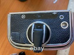 Hasselblad 500cm camera body with a12 back wl finder great shooter