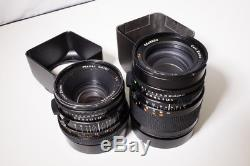 Hasselblad 500cm two lens & two back KIT in hard case