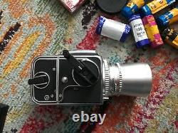 Hasselblad 500cm with two lenses/ Polaroid back and 15 rolls of film