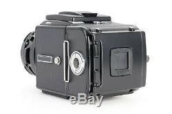 Hasselblad 501CM Black Camera 80mm f2.8 CF + A12 6x6 Back & Acute Matte D LN