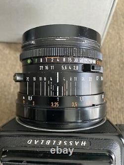 Hasselblad 501c Body, 80mm, A12 Back Kit