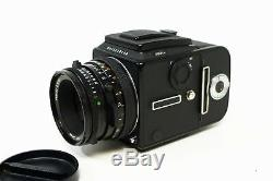 Hasselblad 503CW Black Body + 80mm f2.8 T CF Lens & A12 Film Back Outfit Minty
