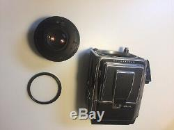 Hasselblad 503CW WORKS PERFECT 80mm 2.8 Medium Format A12 Back 6x6 120mm