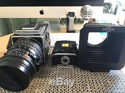Hasselblad 503CW with Carl Zeiss 150mm/4 lens and 2 Film backs