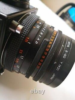 Hasselblad 503CW with lenses, A12 backs and more