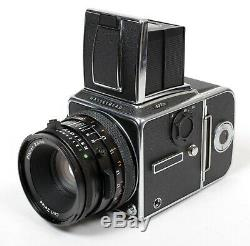 Hasselblad 503CX 6X6 Medium Format Camera with 80mm F2.8 CF Lens (WLF, A12 back)
