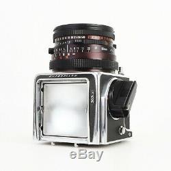 - Hasselblad 503CX Camera + 80mm f2.8 CF Lens + WL Finder + A12 Back + WARRANTY