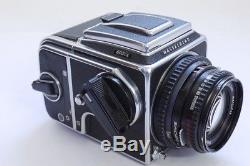 Hasselblad 503CX SLR with Waist-level finder, A12 magazine back & 80mm f2.8 lens