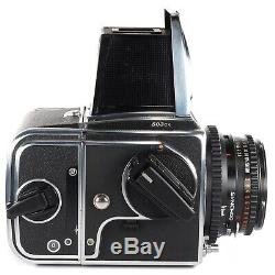 Hasselblad 503CX with Planar C 80 2.8 Waist Level Finder A12 Back (Serviced)