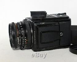 Hasselblad 503CXi Carl Zeiss Planar 80mm 12.8 T CF A12 Back Medium Format Film