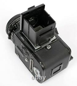 Hasselblad 503Cx camera with 80mm F2.8 lens A12 III Back + Acute Matte D + WLF