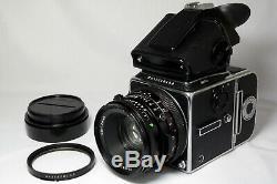 Hasselblad 503 CX + Zeiss CF 80mm f2.8 + A12 back + PME5 medium format camera