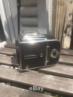 Hasselblad 503 CX + back + split screen viewfinder + waist finder with magnifier