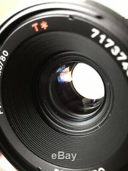 Hasselblad 503cx + 80mm f/2.8 Planar CF lens + A-12 film back, Exc+
