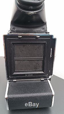 Hasselblad 553ELX Medium Format SLR + Top Prism, Front/Back Cap Great Condition
