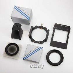 Hasselblad ArcBody camera 35mm 45mm lens Kit (phase one Leaf digital back used)