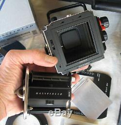 Hasselblad Arcbody Kit 45mm Lens View Finder Centre Filter Film Back
