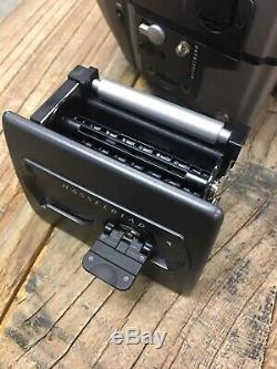 Hasselblad H1 body HV90x Viewfinder & HM 16-32 Film Back Works perfect