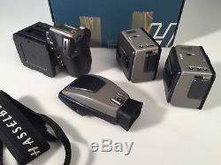 Hasselblad H1 with two film backs, medium format film or digital camera