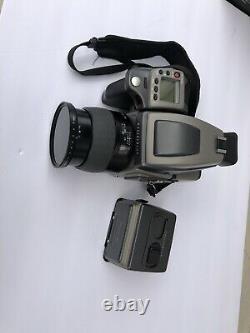 Hasselblad H3D Medium Format Camera + H3Dii Digital Back, Film Back, Extra Batt