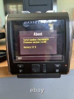 Hasselblad cfv-50c 50MP V-fit medium format digital back CFV 50C + adapted 202FA