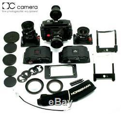 Horseman SW612P Panoramic Medium Format Camera with 47mm, 65mm, 90mm Lens, 3 Backs