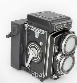 Instax film back Zluxtech for Rolleiflex 2.8C Fuji instant mini film polaroid