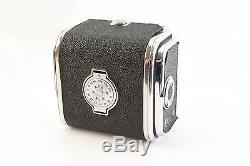 Kiev 80 6x6 cm Russian Soviet Camera 2 Backs Vega 90mm 2.8 Case Book Hasselblad