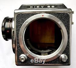 Kiev-88 Set VLF+Film Back+MC Volna-3 2.8/80 SLR Medium Format 6x6 Tested